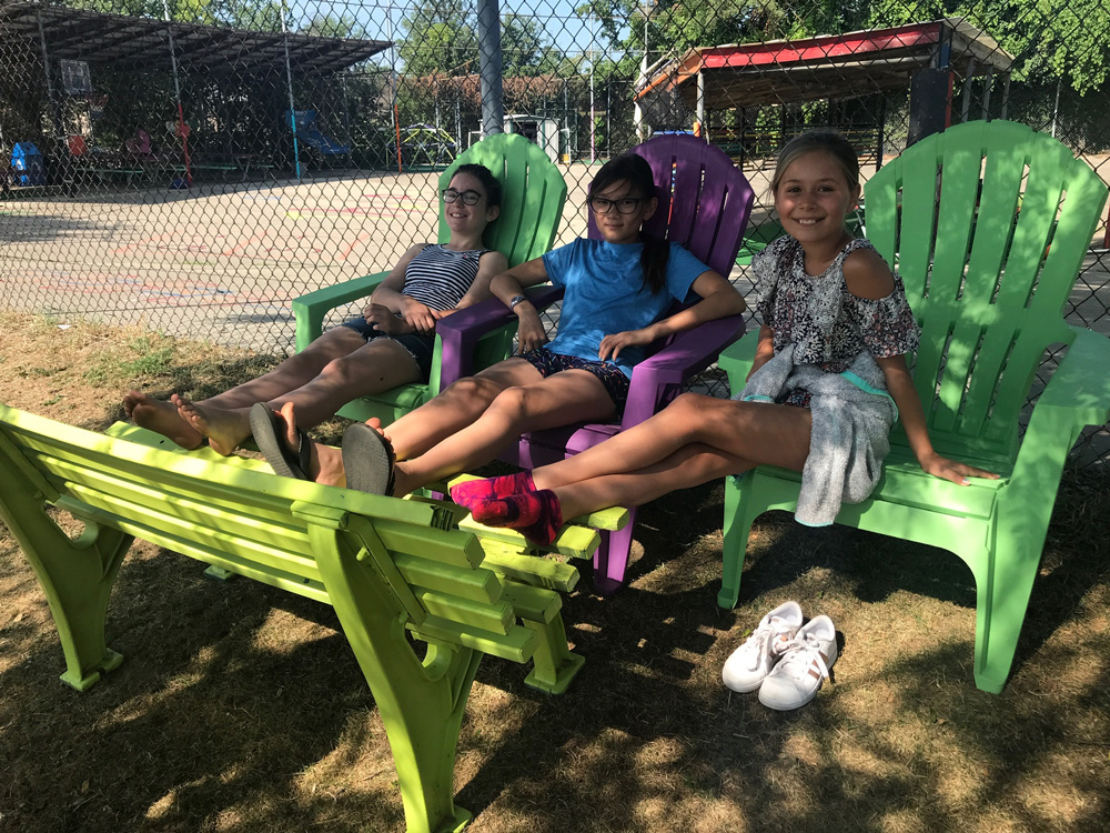 girl power camp
