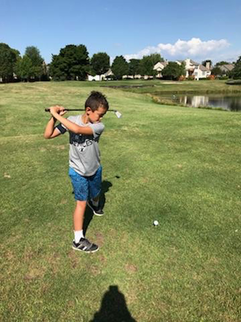 JUNIOR GOLF LEAGUE AT BUSHWOOD GOLF COURSE